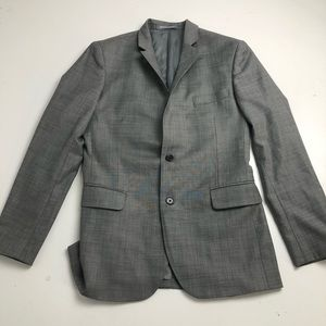 Indochino Gray Suit Blazer Men's